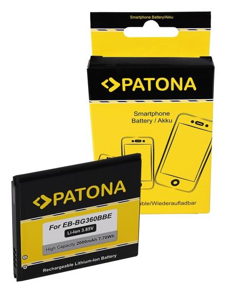 PATONA Akku f. Samsung Galaxy Core Prime EB-BG360BBE EB-BG360CBC CS-SMG361SL