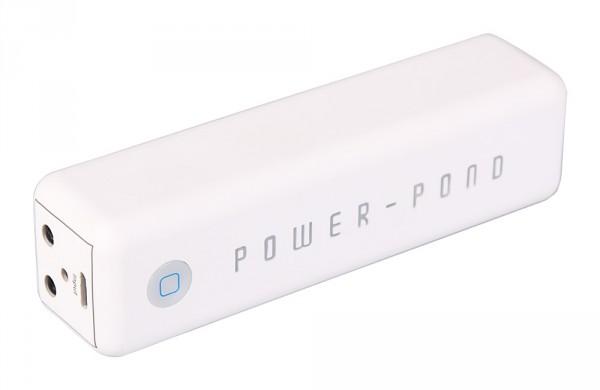 Slim Powerbank mit 3000mAh inkl. Multi-USB Kabel von PATONA