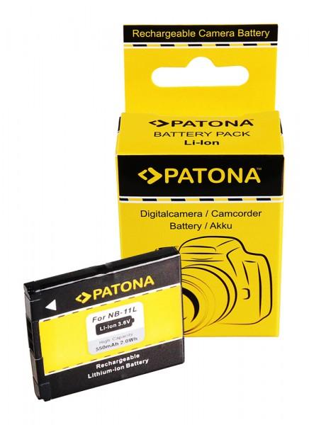 Akku f. Canon NB-11L Digital Ixus 125HS 127HS 132HS 135HS 140HS 145HS von PATONA