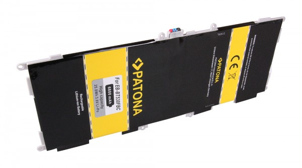 Akku f. Samsung Galaxy Tab 4 10.1 Galaxy Galaxy Tab4 VE 10.1 LTE-A von PATONA