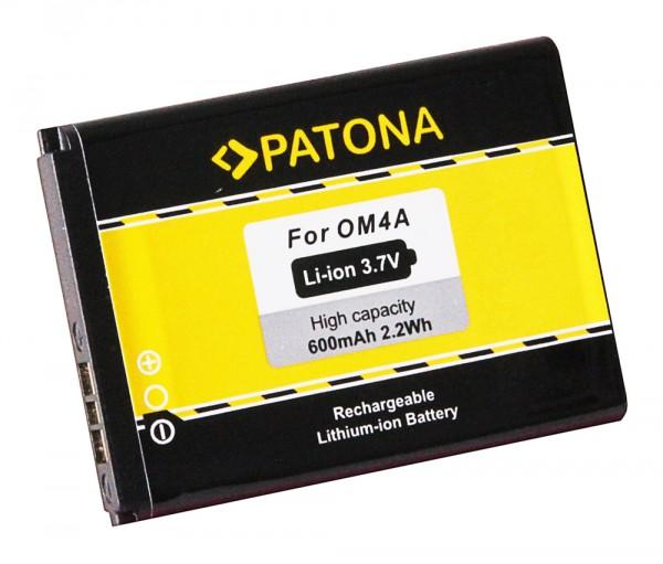Akku f. Motorola OM4A EX210 EX211 Gleam Gleam Plus WX160 WX180 WX260 von PATONA