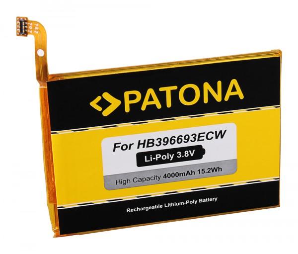 PATONA Akku f. Huawei Ascend Mate 8, Mate 8 Dual SIM, M200-UL00, MT8-TL00, MT8-TL10, HB396693ECW