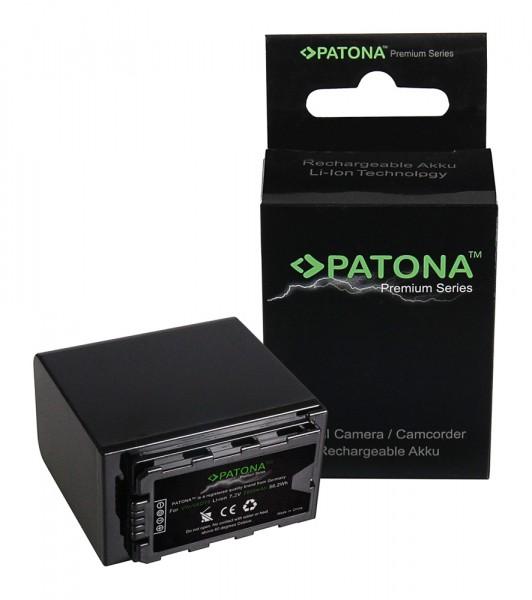 Premium Akku f. Panasonic VW-VBD78 AjHPX270 Aj-HPX270 AJPX298MC AJ-PX298MC von PATONA