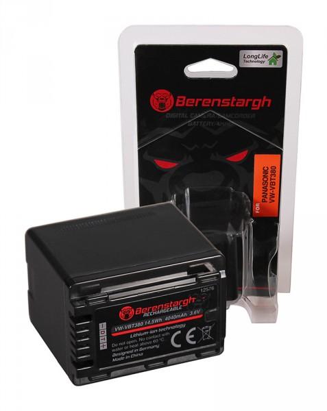 Berenstargh Akku f. Panasonic VW-VBT380 HC V110 V120 V160 V210 V250EB V270 V380