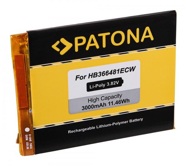 PATONA Akku f. Huawei Honor 8, P9, P9 Lite, P9 Lite Dual Sim, P9 Lite Dual Sim LTE, Venus, EVA-AL00,