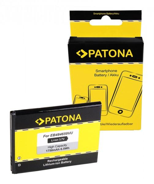 Akku f. Samsung Galaxy W (I8150) I519 I8150 i8150 W S5690 S5690 Xcover von PATONA