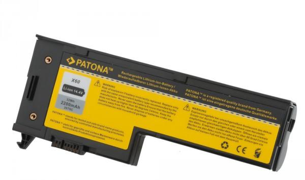 Akku f. Lenovo X60 ThinkPad 1702 1703 1704 1705 1706 1707 von PATONA