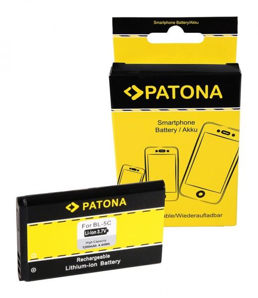 Akku f. Nokia 6230 Asha 202 203 205 6230 100 101 109 112 113 1100 1101 von PATONA