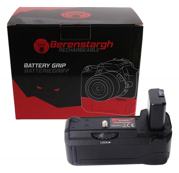 Berenstargh Batteriegriff VG-A6500 für Sony A6500 für NP-FW50 Akku inkl. Fernbedienung 2,4G