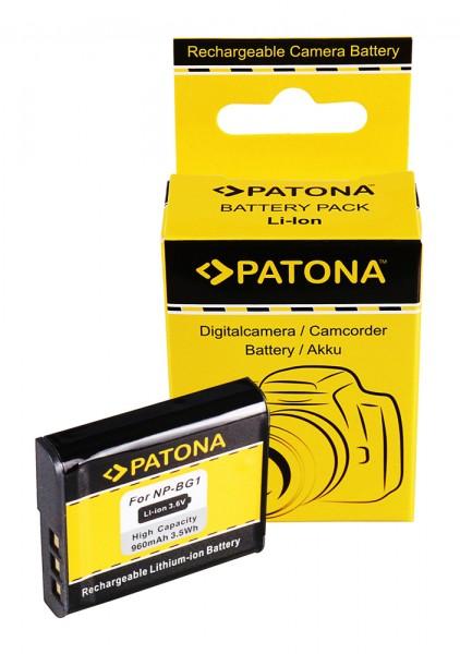 Akku f. Sony NP-BG1 Cyber-shot DSCH55 DSC-H55 DSCH70 DSC-H70 DSCH90 von PATONA