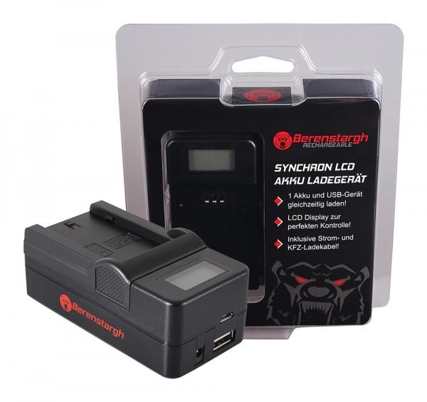 Berenstargh Synchron USB Ladegerät f. Sony A7 III, A7M3, Alpha 7 III, A7 R III, A7RM3, Alpha 7 R III, A9, Alpha 9, FZ100, BC-QZ1gh Synchron USB Ladegerät f. Sony A7 III, A7M3, Alpha 7 III, A7 R III, A7RM3, Alpha 7 R III, A9, Alpha 9, FZ100, BC-QZ1