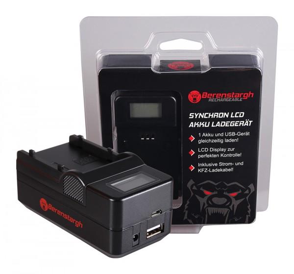 Berenstargh Synchron USB Ladegerät f. Samsung SB-P90A SC SC105L SC-105L SCM105 SC-M105 SCM105S