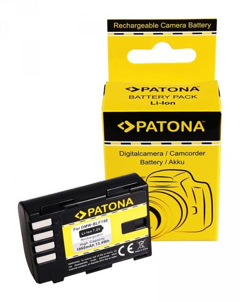 Akku f. Panasonic DMW-BLF19E Lumix DMCGH3 DMC-GH3 DMCGH3A DMC-GH3A von PATONA