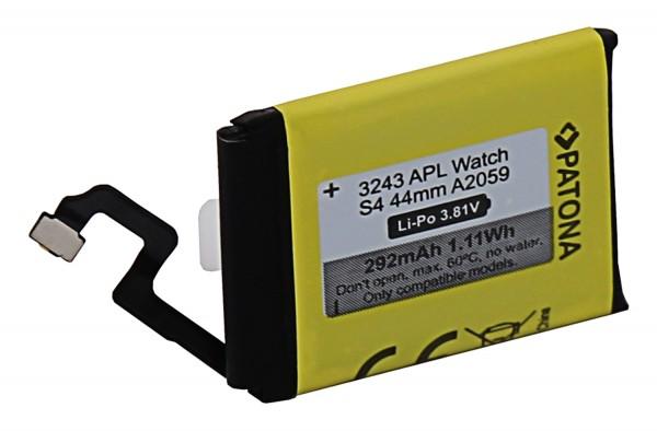 PATONA Akku f. Apple Watch Serie 4 44mm A2059
