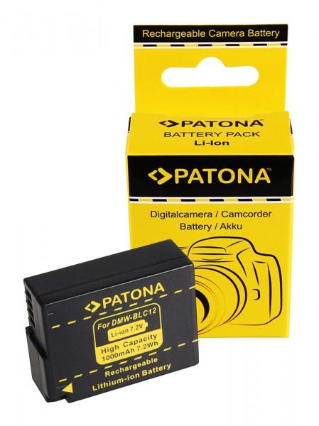 Akku f. Leica DMW-BLC12 V-Lux 4 DMW-BLC12 DMW-BLC12 Panasonic DMW-BLC12 von PATONA