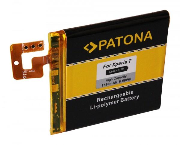 Akku f. Sony Ericsson Ericsson Xperia T Xperia LT30p T von PATONA