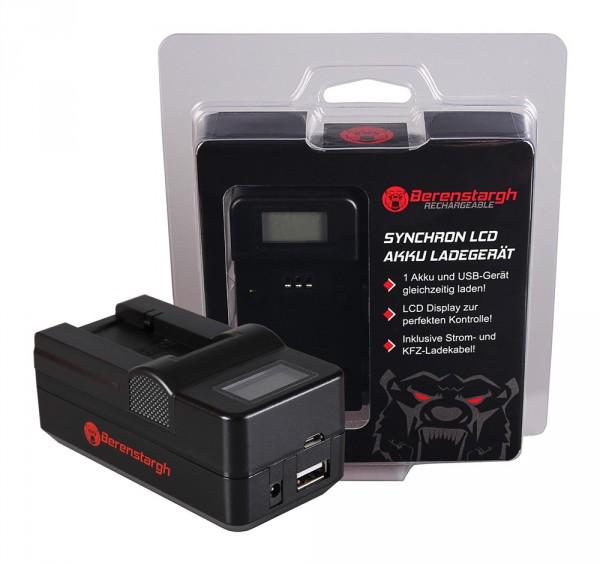 Berenstargh Synchron USB Ladegerät f. Sony NP-FC10 Cyber-shot Point & Shoot DSCP DSC-P DSCP10 DSC-P1