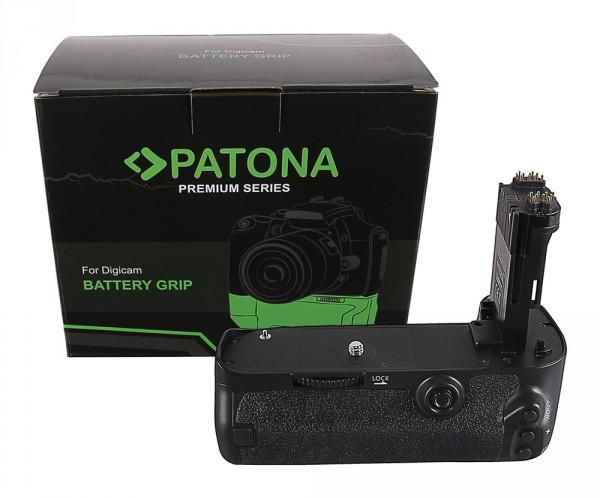PATONA Premium Batteriegriff f. Canon EOS 5D Mark III 5DS 5DSR BG-E11H f. LP-E6 Akkus inkl. IR Fer