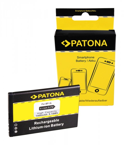Akku f. Nokia Lumia 710 Asha 303 Lumia 710 Lumia 510 610 710 Lumia 710 von PATONA