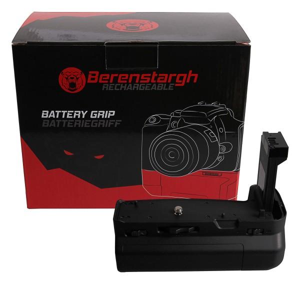 Berenstargh Batteriegriff für Canon EOS RP für 2 LP-E17 Akkus inkl. Fernbedienung