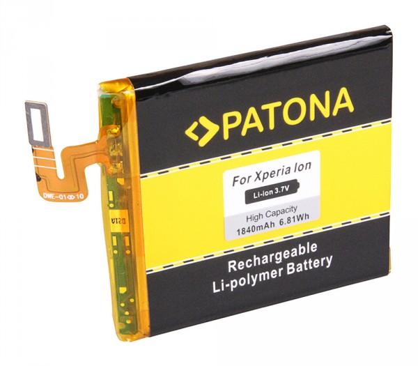 Akku f. Sony Ericsson Ericsson Xperia Ion Xperia Ion LT28h LT28i von PATONA