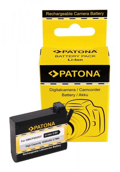 Akku f. Garmin VIRB Ultra 30 Virb Ultra 30 VIRB Ultra 30 010-01529-03 von PATONA