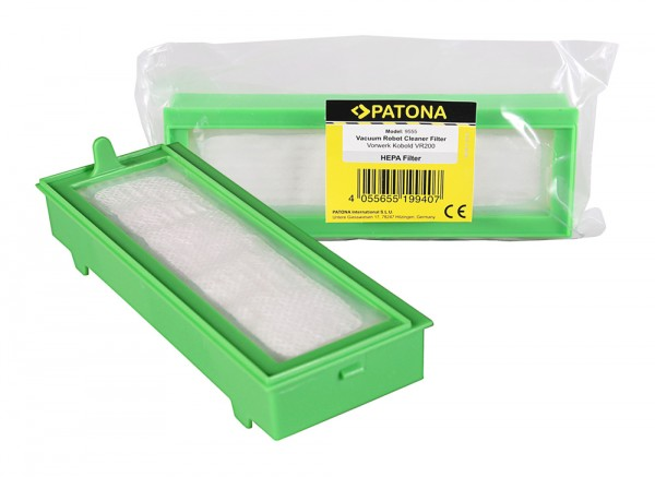 PATONA Hepa Filtersystem Pollenfilter f. Vorwerk Kobold VR200