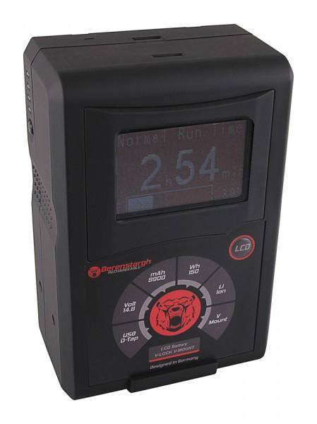 Berenstargh LCD Akku RED ARRI V-Mount 150Wh f. Sony DSR 250P 600P 650P 652P HDW 800P PDW 850 BP-