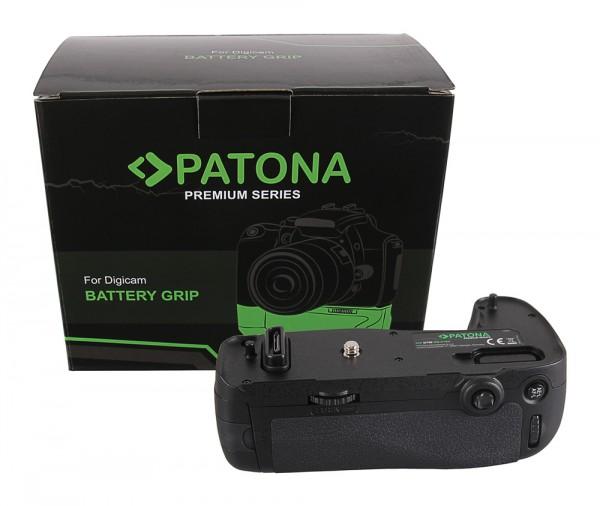 PATONA Premium Batteriegriff für Nikon D750 MB-D16H für 1 EN-EL15 Akku inkl. IR Fernbedienung