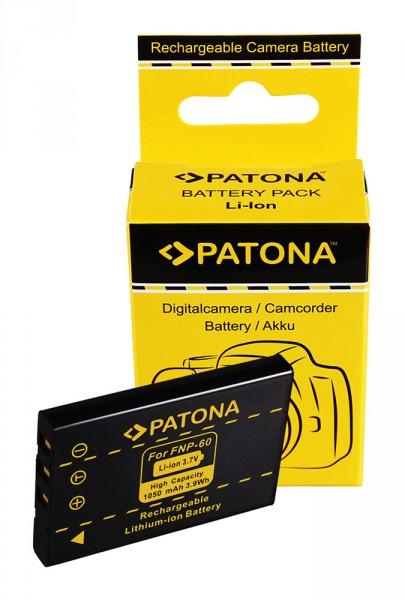 Akku f. Aito NP-60 23002 NP-60 NP-60 Casio NP-60 QV QVR3 QV-R3 QVR4 von PATONA
