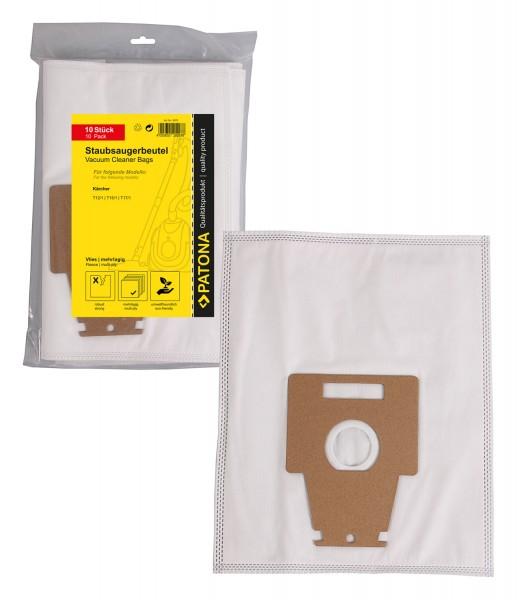 PATONA 10 Staubsaugerbeutel mehrlagig Vlies inkl. Microfilter f. Bosch Typ P mit Pappaufsatz