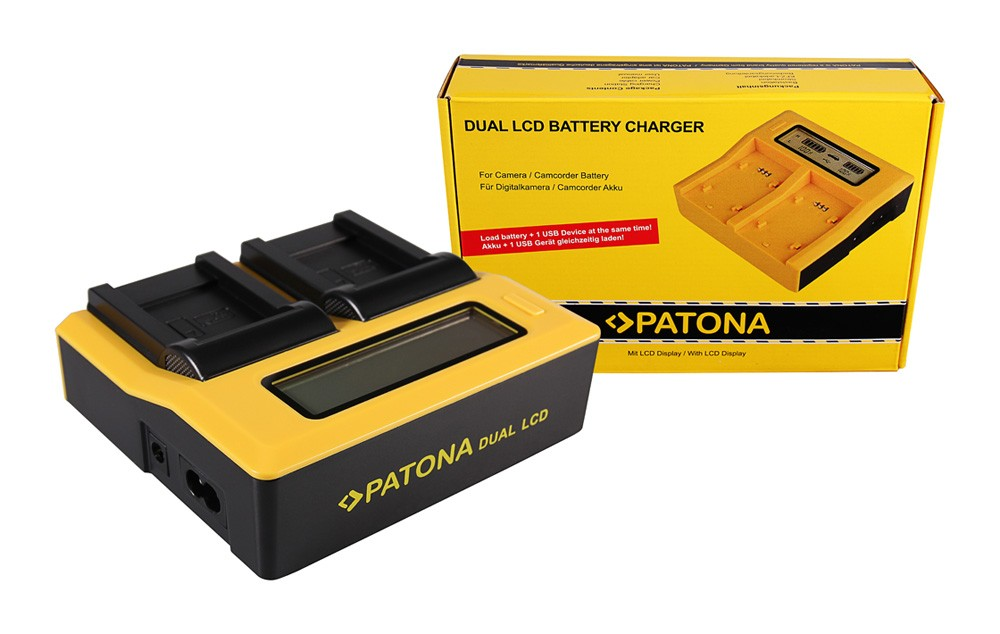 Patona Olympus Li-70B FE FE4020 FE-4020 FE4040 FE-4040 FE5040 FE-5040 dual LCD USB töltő