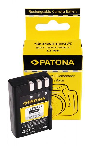 Akku f. Nikon EN-EL9 D3000 D40 D40x D5000 D60 von PATONA