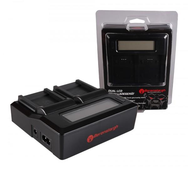 Berenstargh Dual LCD USB Ladegerät f. Sony NP-BN1 Cybershot DSCT99 DSC-T99 DSCTX5 DSC-TX5 DSCTX7