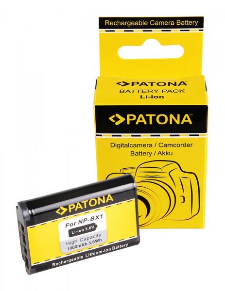 Akku f. Sony NP-BX1 BX BX1 NP-BX1 Cyber-shot AS100VR AS15 AS20 AS200 von PATONA
