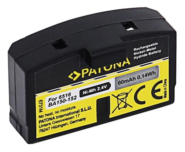 PATONA Batterie pour Sennheiser BA150 BA151 BA152 65161
