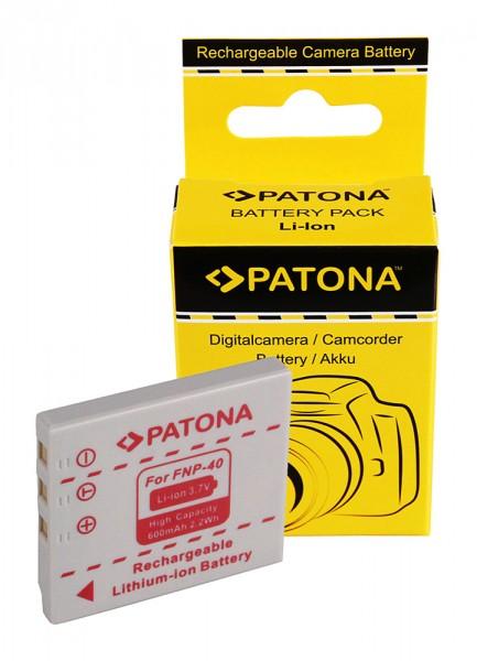 Akku f. Fujifilm NP-40 Finepix F402 F402 F402 F-402 F610 F-610 F700 von PATONA