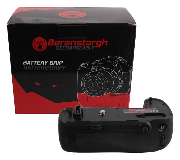 Berenstargh Batteriegriff für Nikon D750 MB-D16H für 1 EN-EL15 Akku inkl. IR Fernbedienung