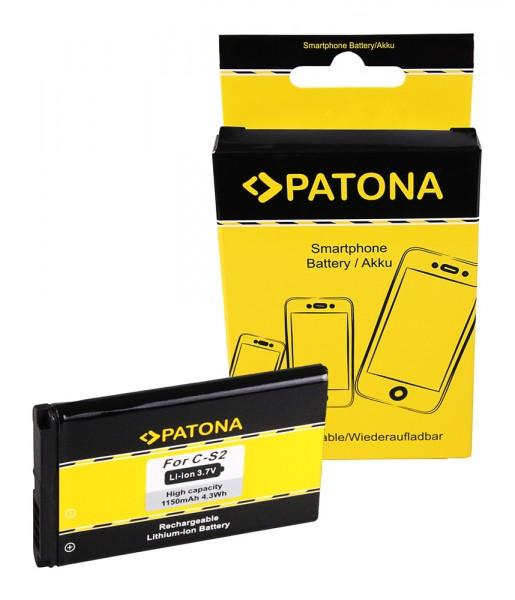 Akku f. Blackberry Curve (8300) Curve 8300 8310 8520 8530 9300 3G Curve von PATONA
