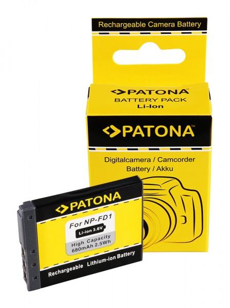 Akku f. Sony NP-FD1 BD1 DSC DSCT2 DSC-T2 DSCT200 DSC-T200 DSCT300 von PATONA