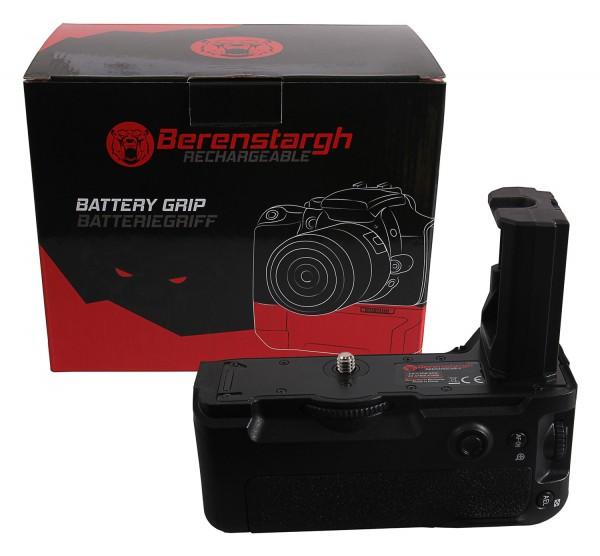 Berenstargh Batteriegriff für Sony Alpha A7MIII A7RIII A7III A9 VG-C3EM für 2 x NP-FZ100 Akkus