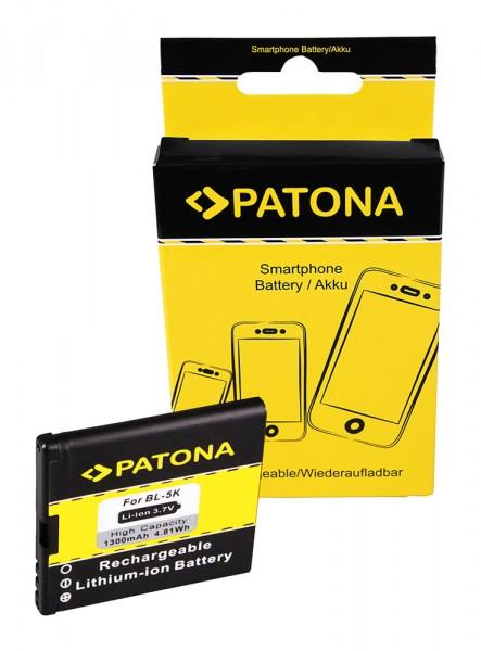 Akku f. Nokia N85 701 C7 C700 C7-00 N85 N868MP N868MP N86-8MP N86-8MP von PATONA
