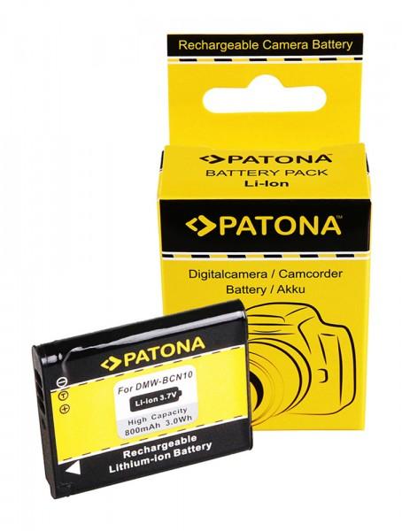 Akku f. Panasonic DMW-BCN10 LF1 Lumix DMCLF1 DMC-LF1 DMCLF1K DMC-LF1K von PATONA