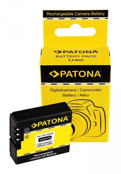 Akku f. Astak DS-SD20 Action Pro CM7000 CM-7000 CM7200 CM-7200 DS-SD20 von PATONA