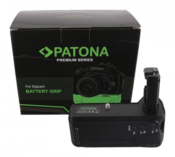 PATONA Premium Batteriegriff f. Sony A7 II, A7M2 A7R2 VG-C2EMRC f. 2 x NP-FW50 Akkus inkl. Fernbed