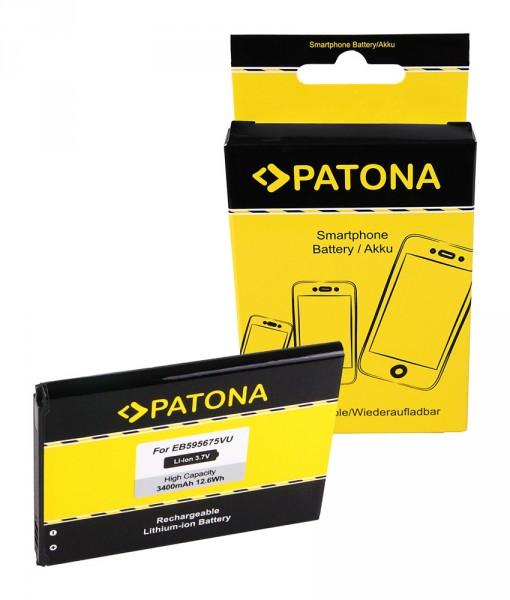 Akku f. Samsung Galaxy Note 2 (N7100) GTN7100 Note 2 GT-N7100 Note 2 von PATONA