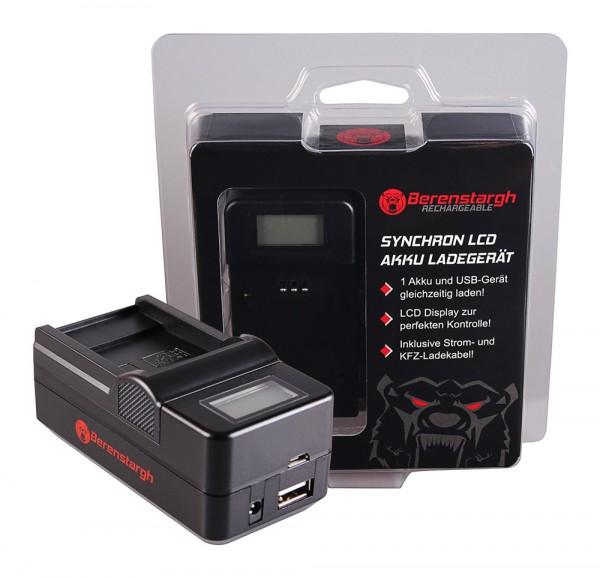 Berenstargh Synchron USB Ladegerät f. Sanyo DB-L40A L20A Xacti DMXC1 DMX-C1 DMXCA65 DMX-CA65 DSCC4