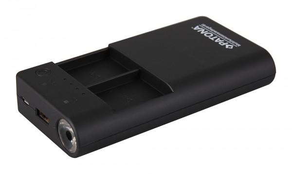 Powerbank für 2x GoPro Hero 3 | 3+ Akkus inkl. USB-Output von PATONA