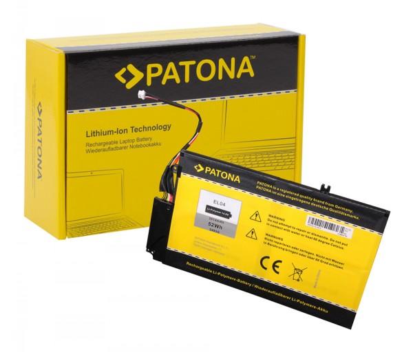 Akku f. HP EL04 Envy 4 i5-3317U 4-1000 4-1000 4-1001TU von PATONA