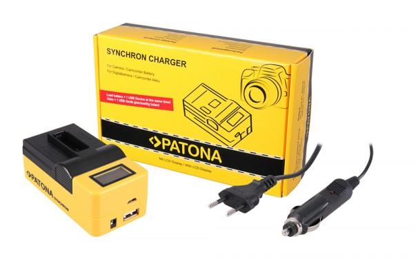 Synchron USB Ladegerät f. GoPro Gopro Hero 5 Hero 5 Gopro Hero 5 Hero 5 von PATONA